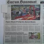 Nurminen Laitilasta vei Japan Amerikkaan alle puolessa vuodessa